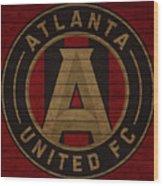 Atlanta United Barn Door Wood Print