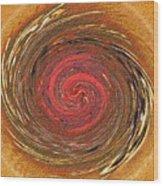 Atlantean Fire Wood Print