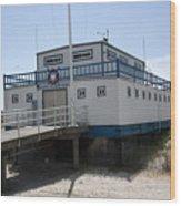 Atlantic City Beach Patrol Wood Print