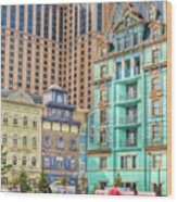 Atlantic City Boardwalk Wood Print