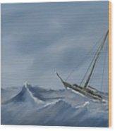 Atlantic Wood Print