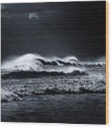 Atlantic Ocean Wood Print