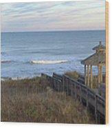 Atlantic Ocean Nc Wood Print
