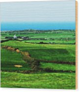 Atlantic View Doolin Ireland Wood Print