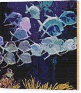 Atlantis Aquarium Wood Print
