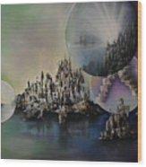 Atlantis Resurrected Wood Print