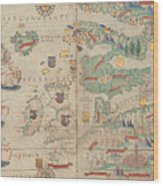 Atlas Miller Nautical Atlas Wood Print
