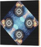 atmoSPHERE Fractal 11 Wood Print
