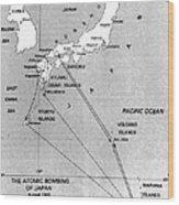 Atomic Bombing Of Japan, 1945 Wood Print