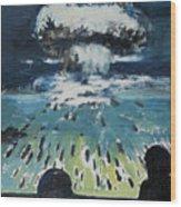 Atomic Wood Print