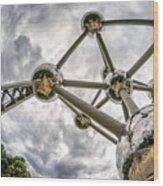 Atomium 3 Wood Print