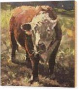 Atsa Lotta Bull Wood Print