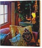 Barn Attic Rummage Sale Wood Print
