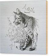 Attila Wood Print