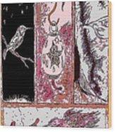 Attracting The Hummingbird Wood Print