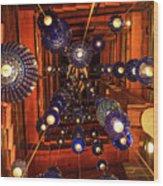 Attrim Lights Wood Print