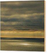 Auburn Sky Wood Print