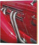Auburn Speedster Wood Print