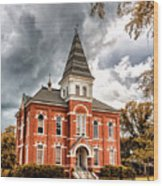 Auburn University - Hargis Hall Wood Print