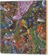 Auca Yachai Wood Print
