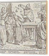 Auch Ein Todtentanz IIi Wood Print