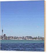 Auckland Harbour Wood Print