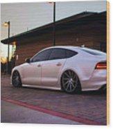 Audi A8 Wood Print