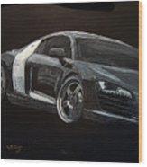 Audi Le Mans Wood Print