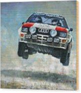 Audi Quattro Gr.4 1982 Wood Print