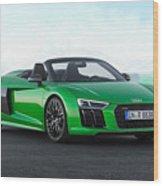 Audi R-8 Spyder Wood Print
