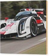 Audi R18 E-tron, Le Mans - 03 Wood Print