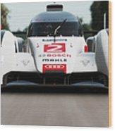 Audi R18 E-tron, Le Mans - 04 Wood Print
