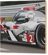 Audi R18 E-tron, Le Mans - 07 Wood Print