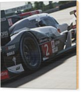 Audi R18 E-tron, Le Mans - 09 Wood Print
