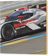 Audi R18 E-tron, Le Mans - 11 Wood Print