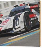 Audi R18 E-tron, Le Mans - 12 Wood Print