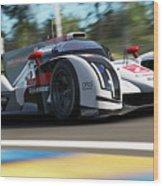 Audi R18 E-tron, Le Mans - 14 Wood Print
