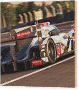 Audi R18 E-tron, Le Mans - 18 Wood Print