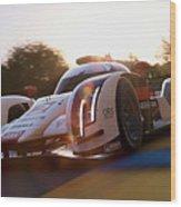 Audi R18 E-tron, Le Mans - 21 Wood Print