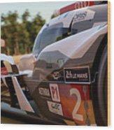 Audi R18 E-tron, Le Mans - 23 Wood Print
