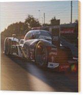 Audi R18 E-tron, Le Mans - 24  Wood Print