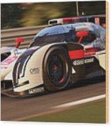 Audi R18 E-tron, Le Mans - 30 Wood Print