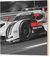 Audi R18 E-tron, Le Mans - 31 Wood Print