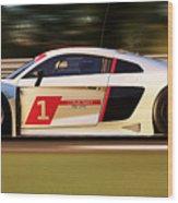 Audi R8 Lms - 15 Wood Print