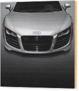 Audi R8 Sports Car Wood Print