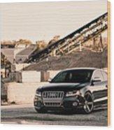Audi S5 Wood Print