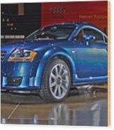 Audi Tt Wood Print