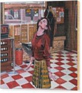 Audrey Horne Twin Peaks Resident Wood Print
