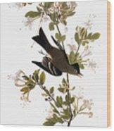 Audubon: Pewee, 1827-38 Wood Print
