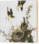 Audubon: Yellow Chat, (1827-38) Wood Print